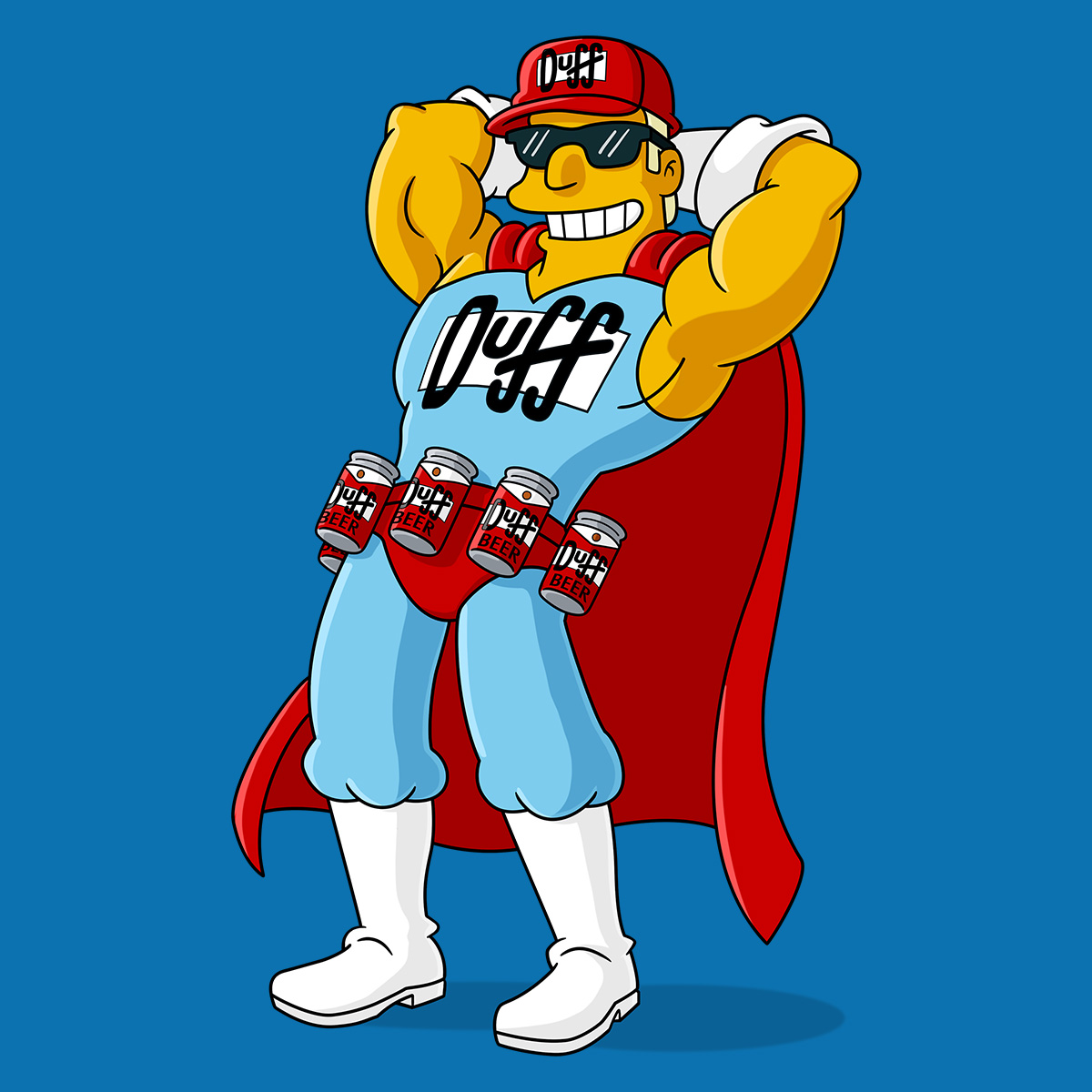Duffman | Simpsons World on FXX