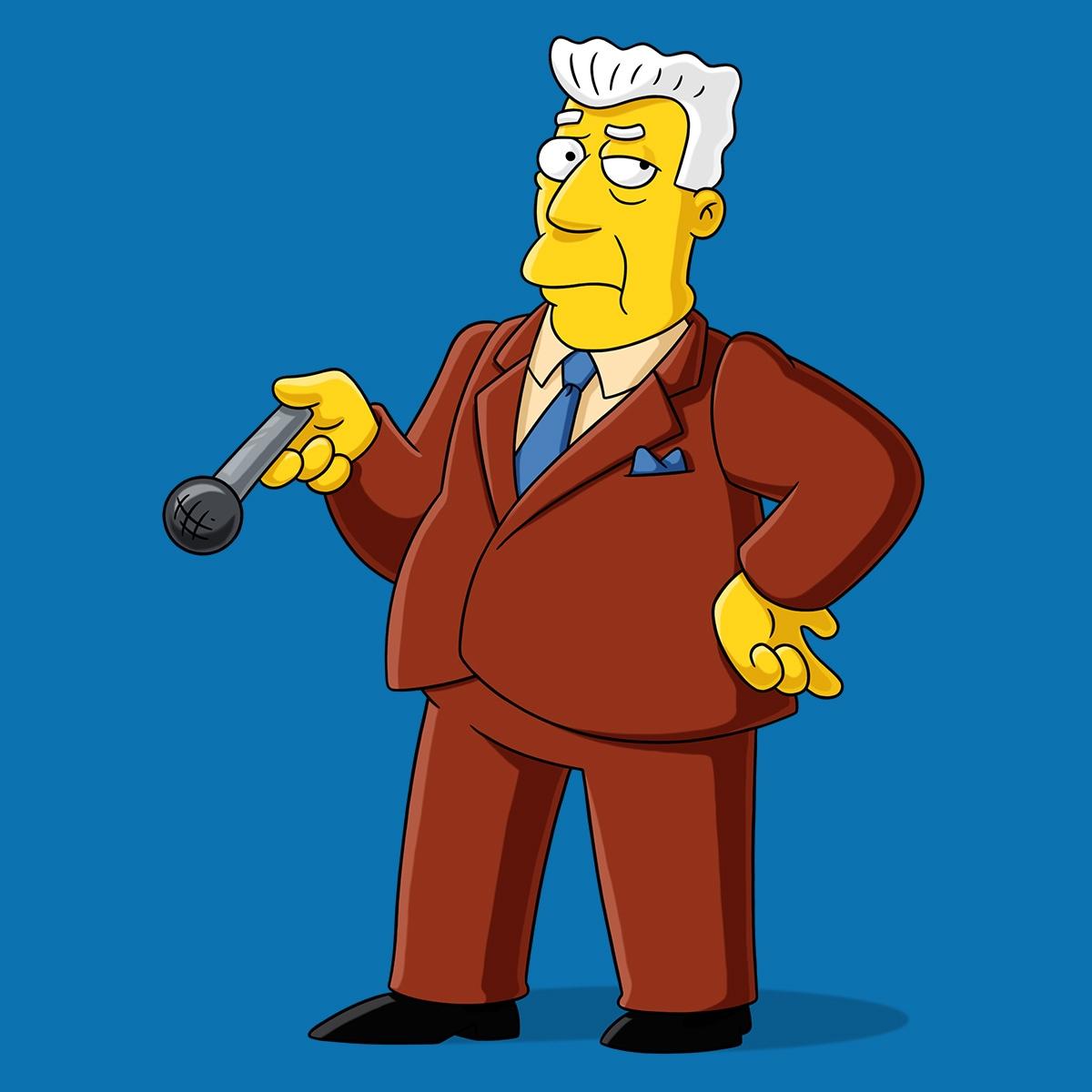 Kent Brockman | Simpsons World on FXX