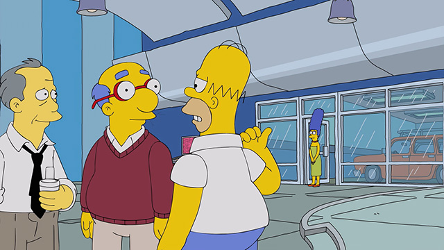 c3b5ee553d1a Homer marvels at all the free food at his new job.