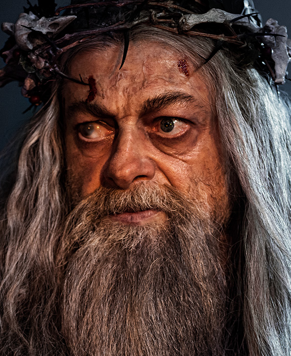 Andy Serkis as the Ghost of Christmas Past | A Christmas Carol on FX