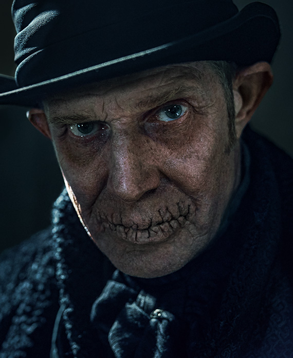 Jason Flemyng as the Ghost of Christmas Future | A Christmas Carol on FX