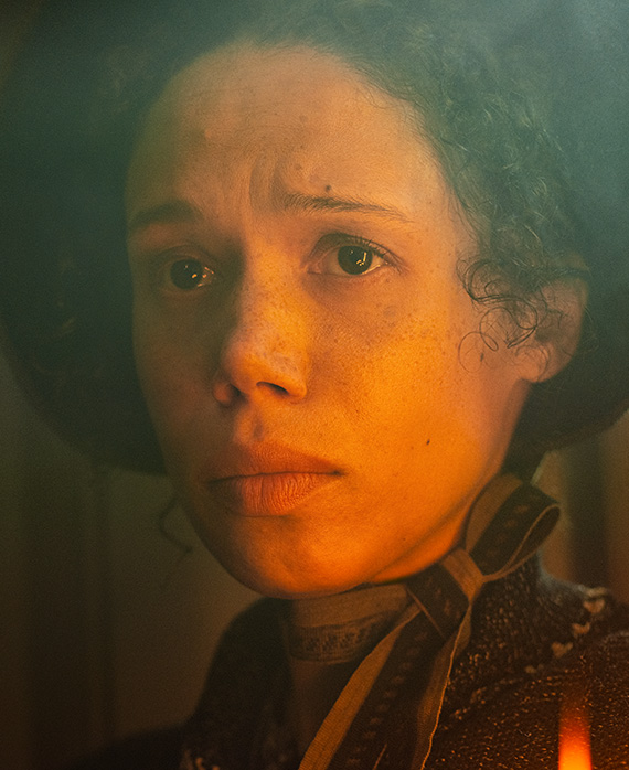 Vinette Robinson as Mary Cratchit | A Christmas Carol on FX