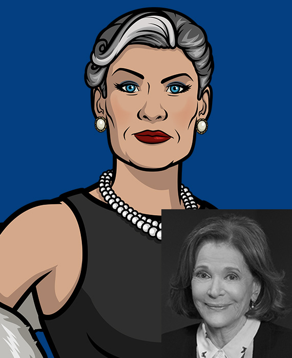 Jessica Walter as Malory Archer