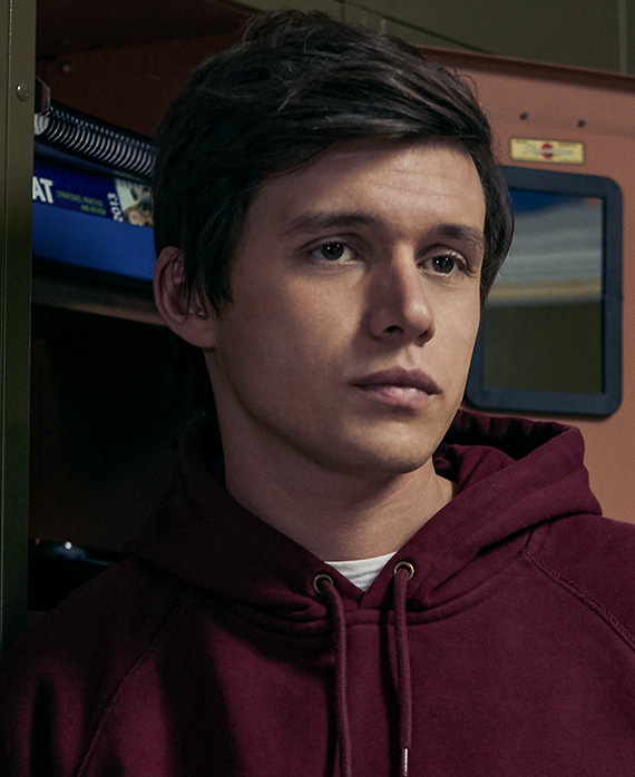 Nick Robinson as Eric Walker