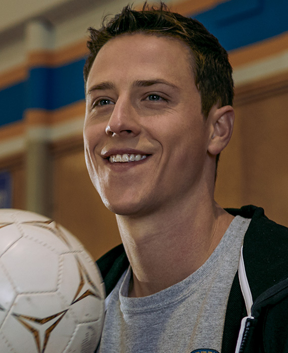 Shane Harper as Logan Davis