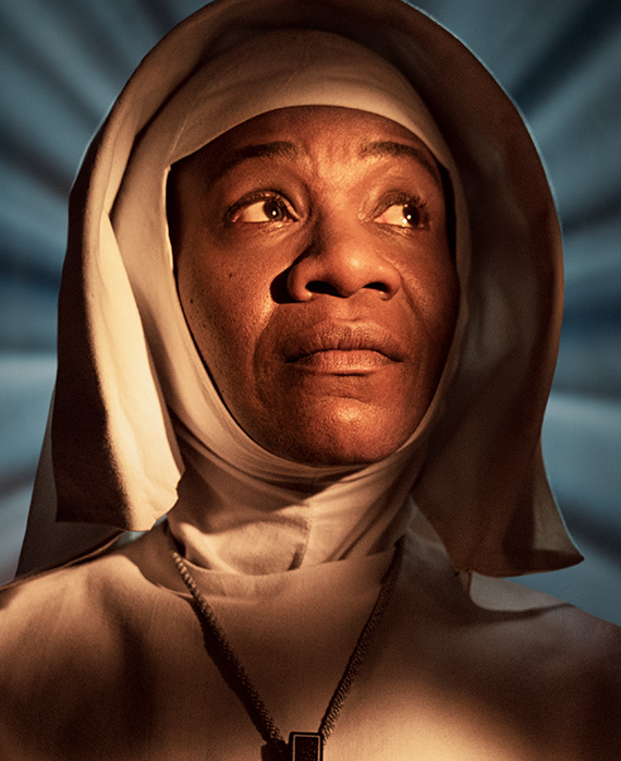 Karen Bryson as Sister Philippa