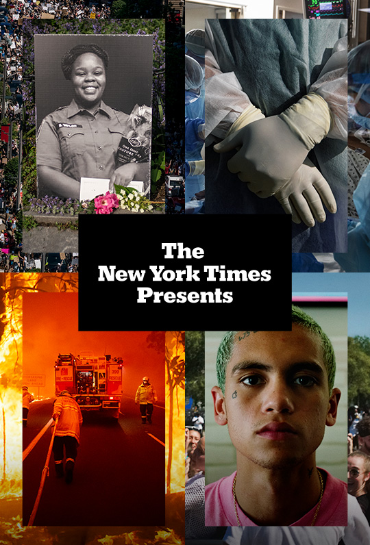 NYT Presents Poster