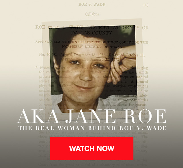 AKA Jane Roe Banner Image