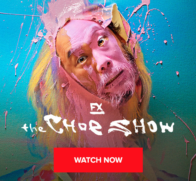 Choe Show Hulu Banner