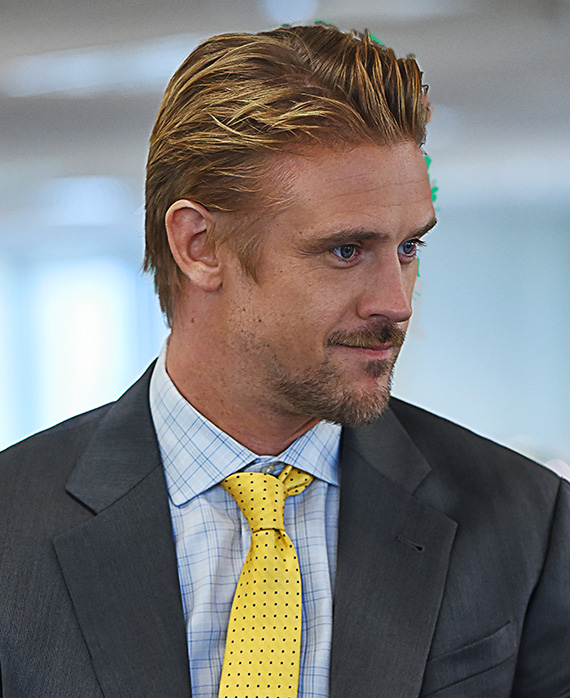 Boyd Holbrook as Aaron in