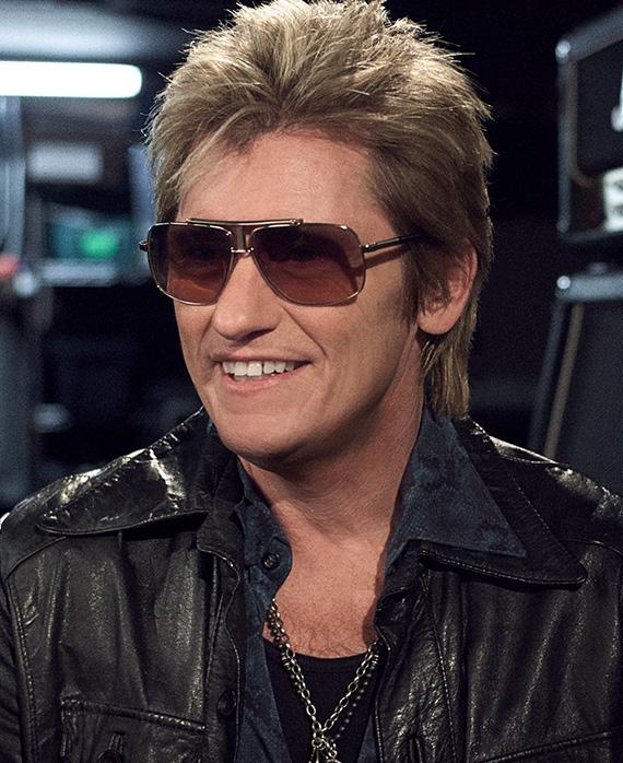 """Denis Leary as """"Johnny Rock"""""""