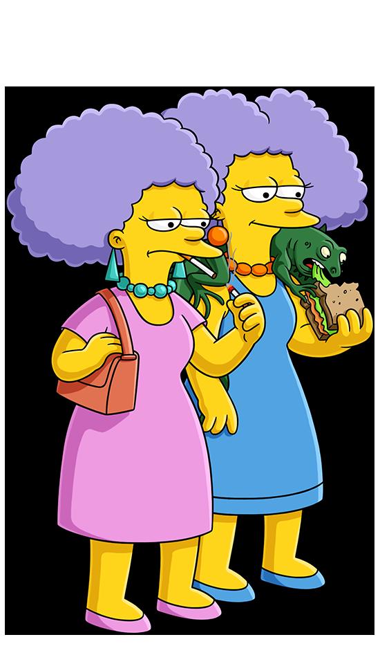 Selma and patty bouvier simpsons world on fxx - Selma bouvier ...