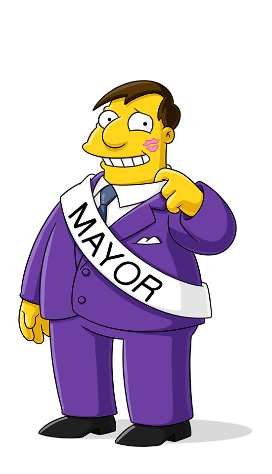 Mayor Joe Quimby